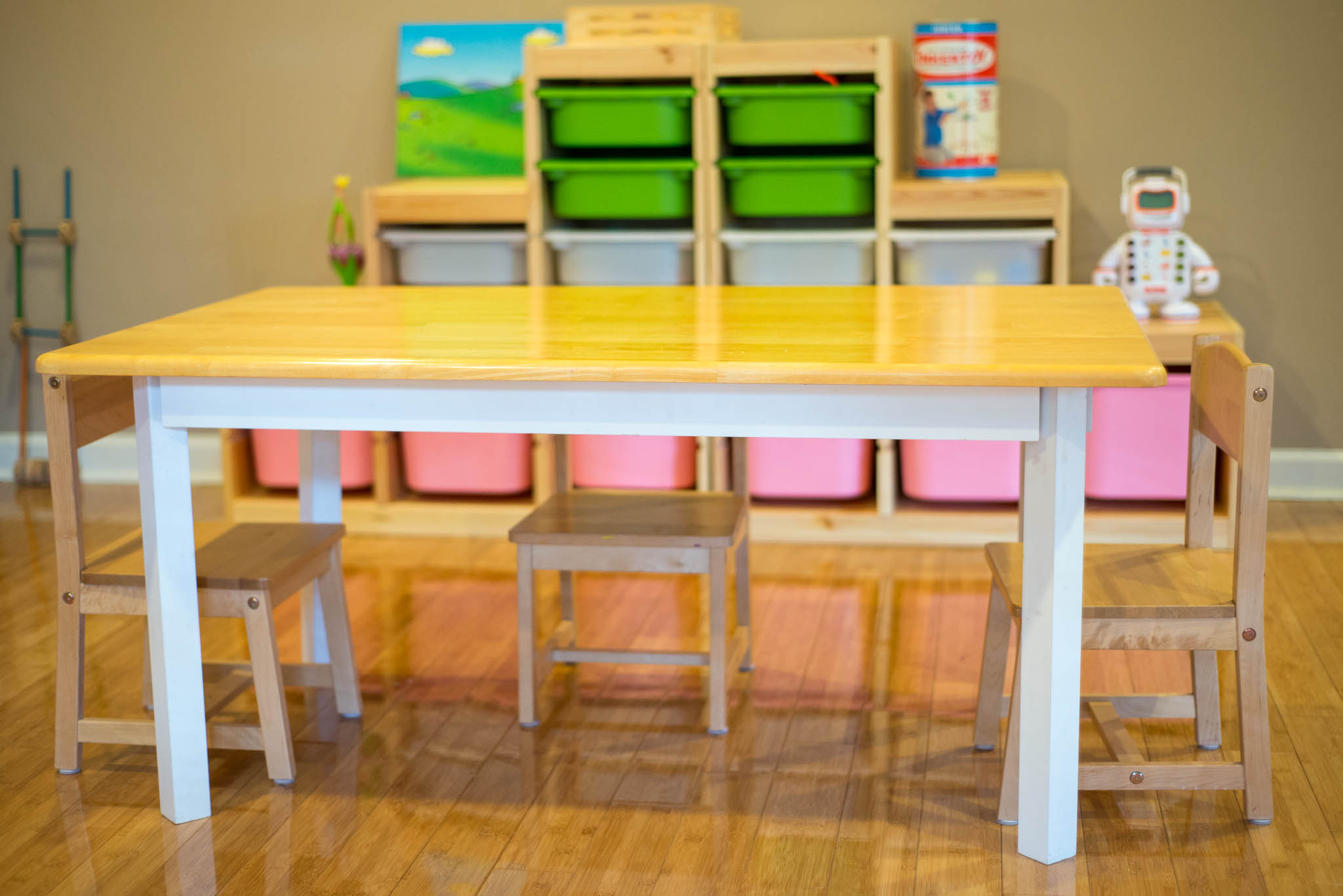 kitchen table to kids' table – taking on today